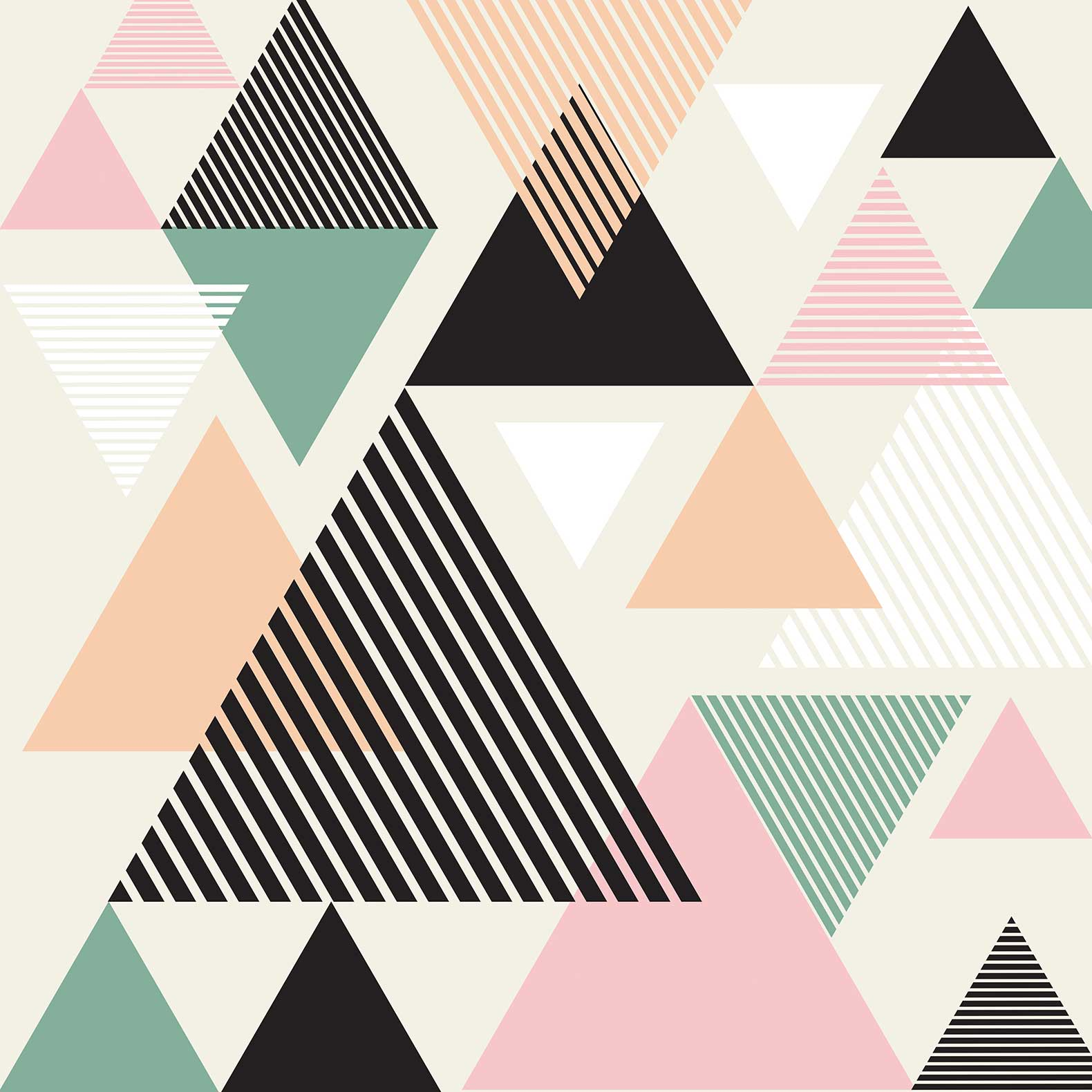 hipster triangle pattern